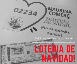 Ya a la venta lotería de navidad 2018 en La Maurina
